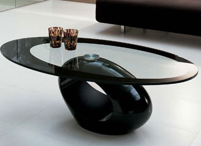 Unique-modern-glass-top-coffee-table-design
