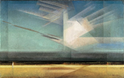 Lyonel Feininger, Bird Cloud, 1926, Photo © President and Fellows of Harvard College