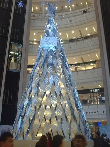 Silver-Swarovski-Christmas-Tree
