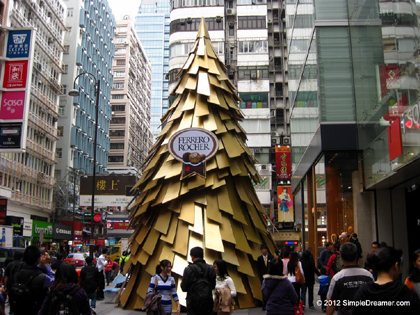 iSquare Ferrero Rocher Christmas Tree 02