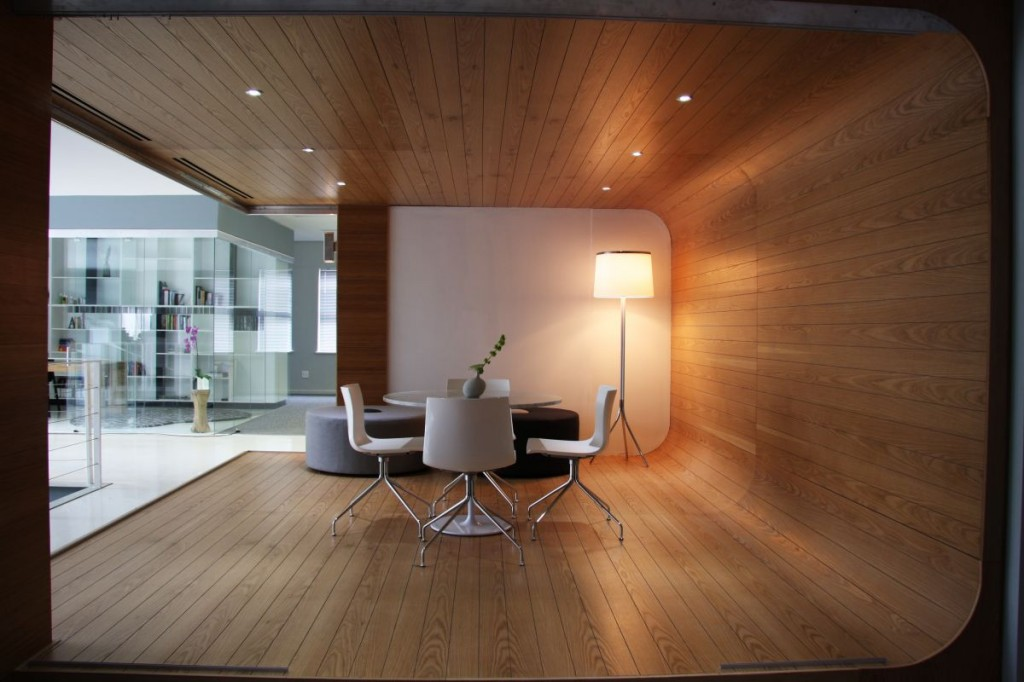 union swiss minimalist office interior