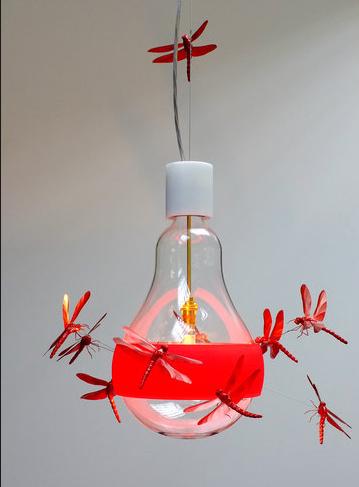 ingo-maurer-j-b-dragonfly-light-red-eexhibition-conran-